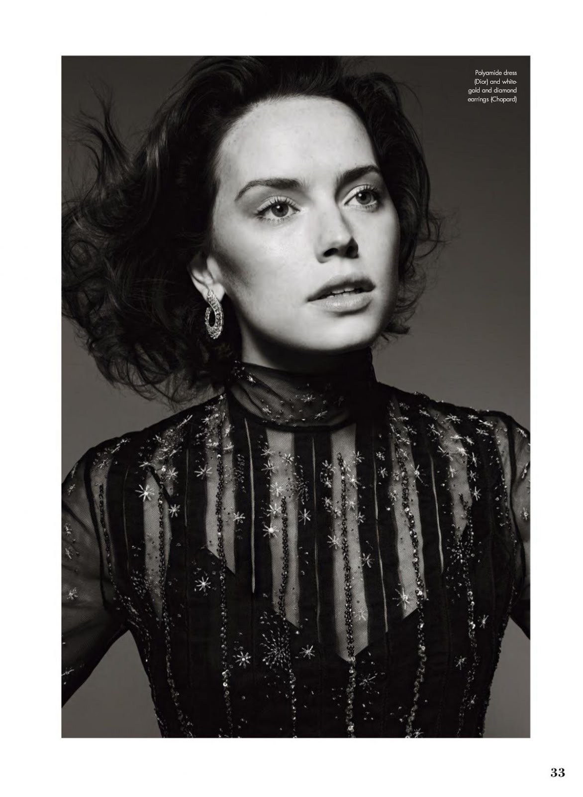 Daisy Ridley In Elle Magazine Canada February 2018 issue