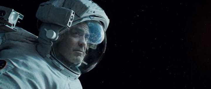 Screen Shot Of Gravity (2013) Dual Audio Movie 300MB small Size PC Movie
