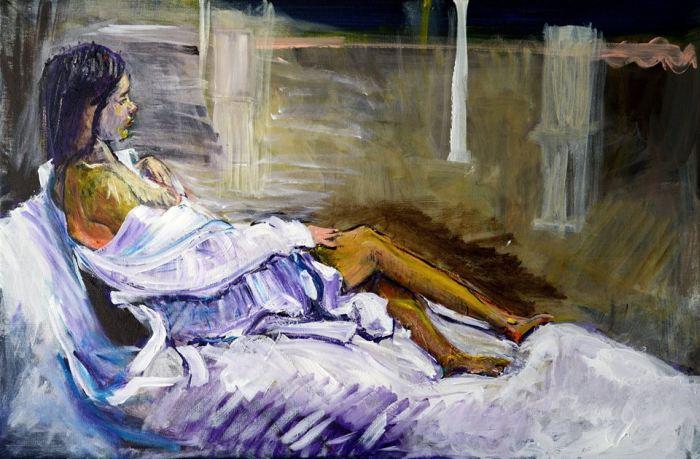 Британский художник. Toby Moate