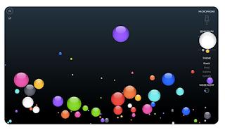 Bouncingballs noise app web para el sonido en clase