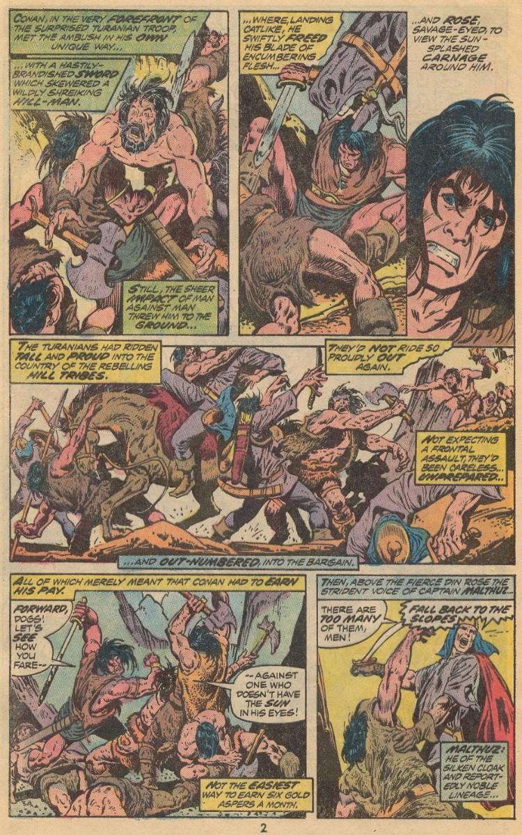 Conan the Barbarian (1970) 31 Page 2