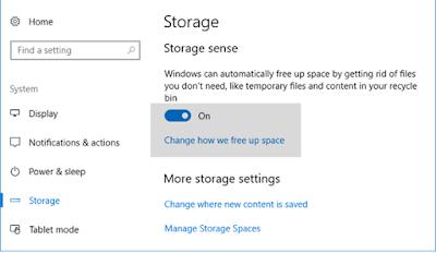 Cara Mendapatkan Free Disk Space di Windows 10 Secara Otomatis