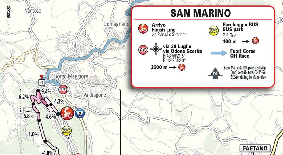 GIRO D'ITALIA 2019 Streaming cronometro Riccione San Marino: 9° Tappa Oggi 19 maggio in Diretta Rai TV e Rai Play