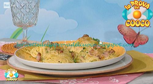 Ricetta dei Nidi di spaghetti da La Prova del Cuoco