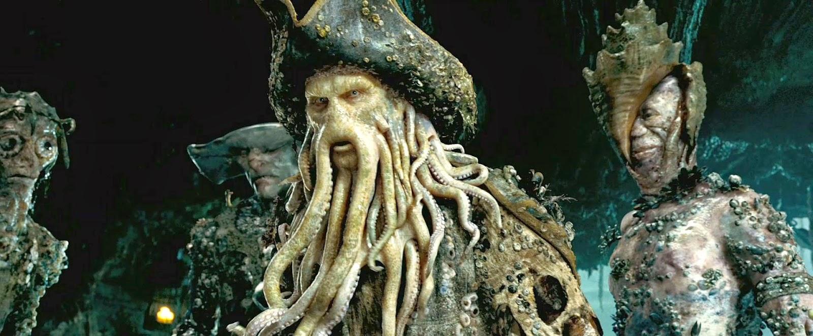 Davy jones(Pirates Of The Caribbean):