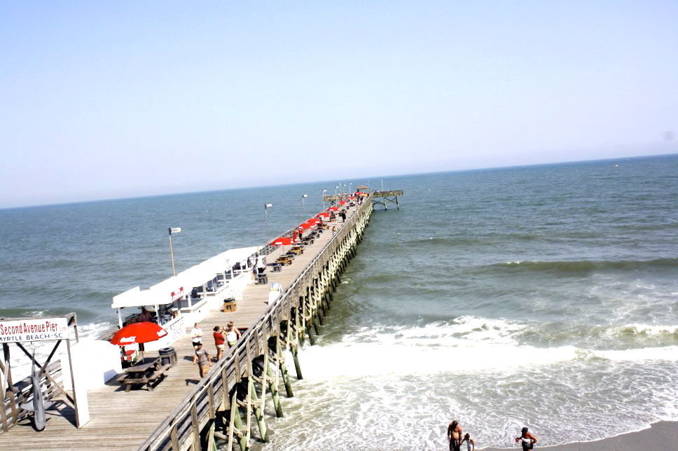 The Amazing View Of South Carolina Coastline Will For More Information On 2nd Ave Pier Visit Http Secondavenuepier