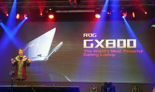 Το ASUS ROG GX800 είναι το καλύτερο Gaming laptop στον κόσμο.