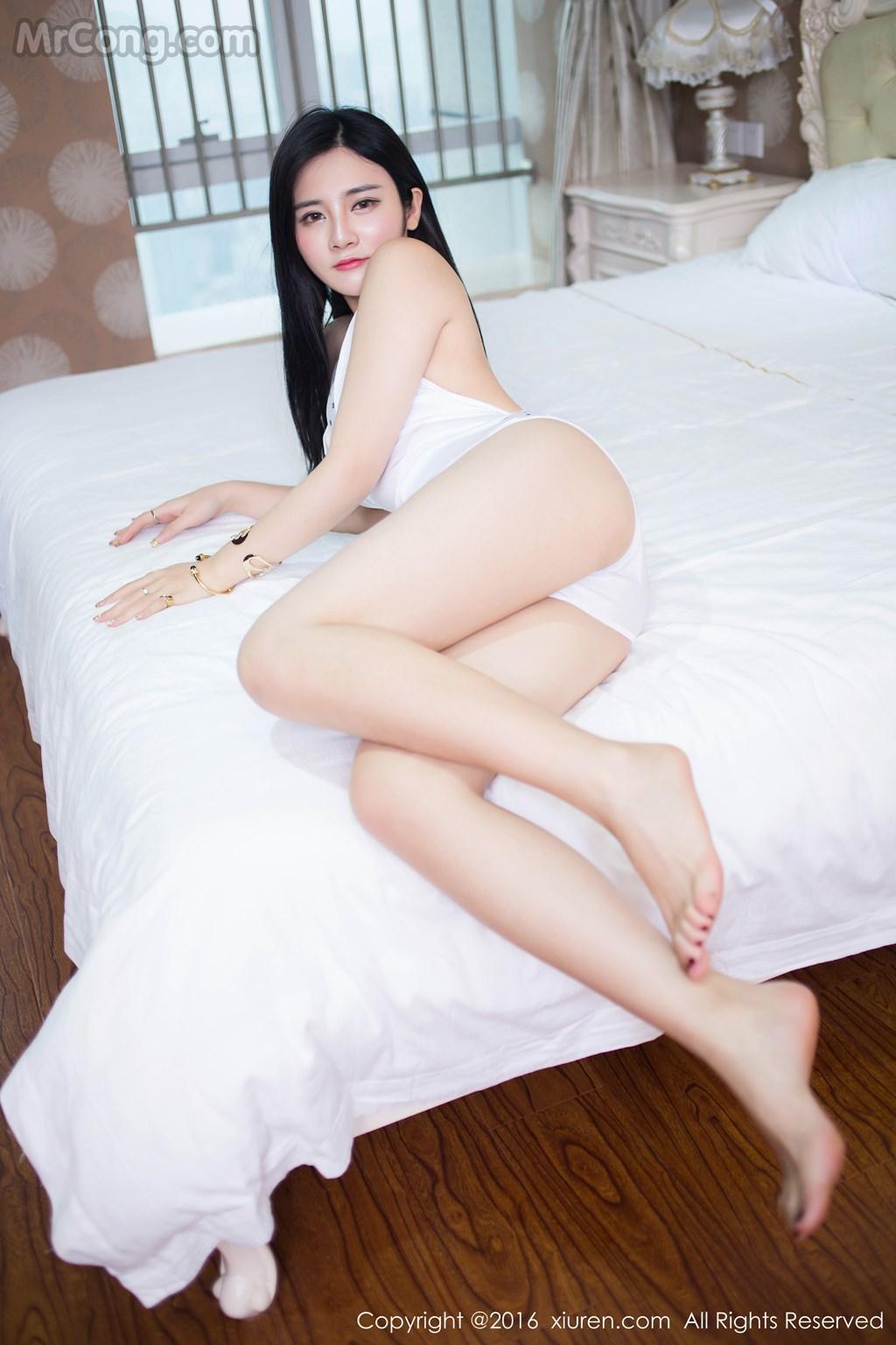 XIUREN No.460: Người mẫu Hanna (木木) (51 ảnh)