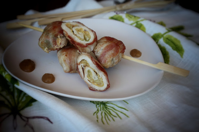 involtini di pollo con zucchine e pancetta