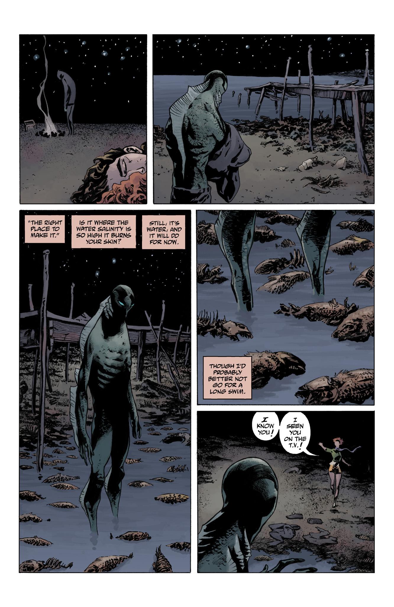 Read online Abe Sapien comic -  Issue #4 - 12