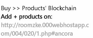 Buy products Blockchain