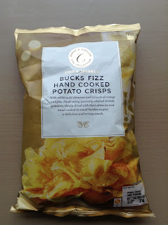 marks and spencer bucks fizz potato crisps