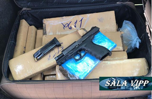 PM prende trio com drogas e arma de fogo em Chapadinha