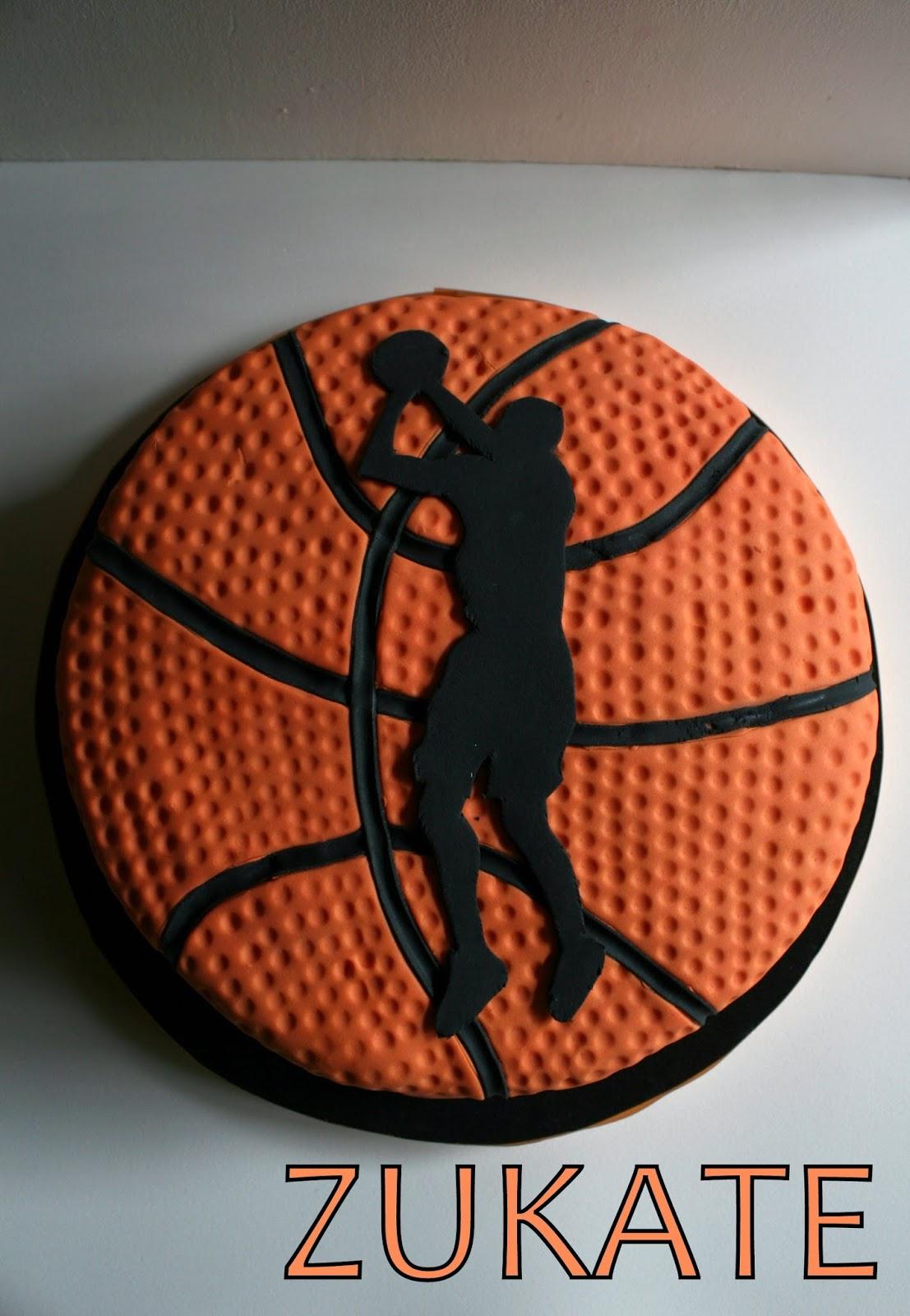 How To Make A Basketball Cake