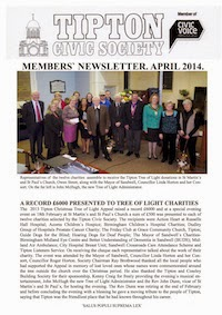 TCS Newsletter April 2014