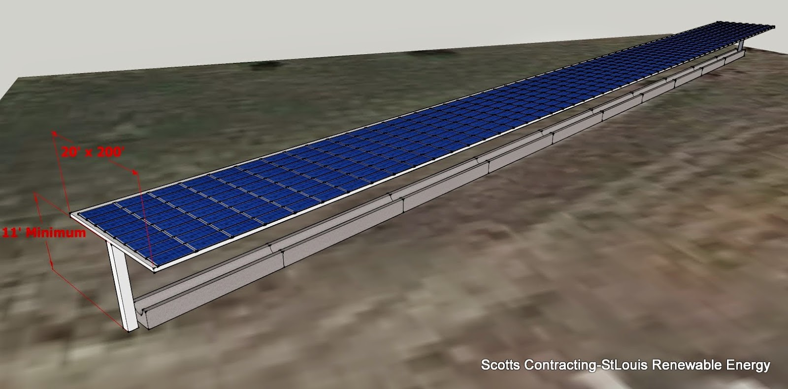it is possible to design build a Solar Power Shade to fit over your existing feed bunks