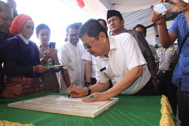 Resmikan Pasar Andi Tadda, Wali Kota Beber Rahasia Pelaris Dagangan