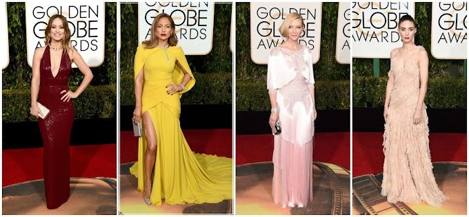 Golden Globes 2016 : Best Dressed