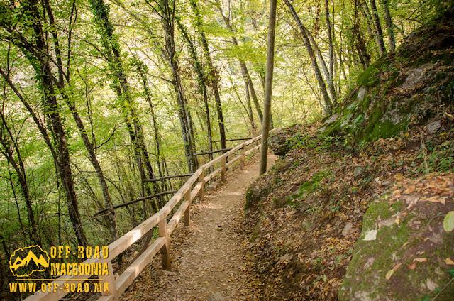 Belasica mountain road to Smolare waterfall