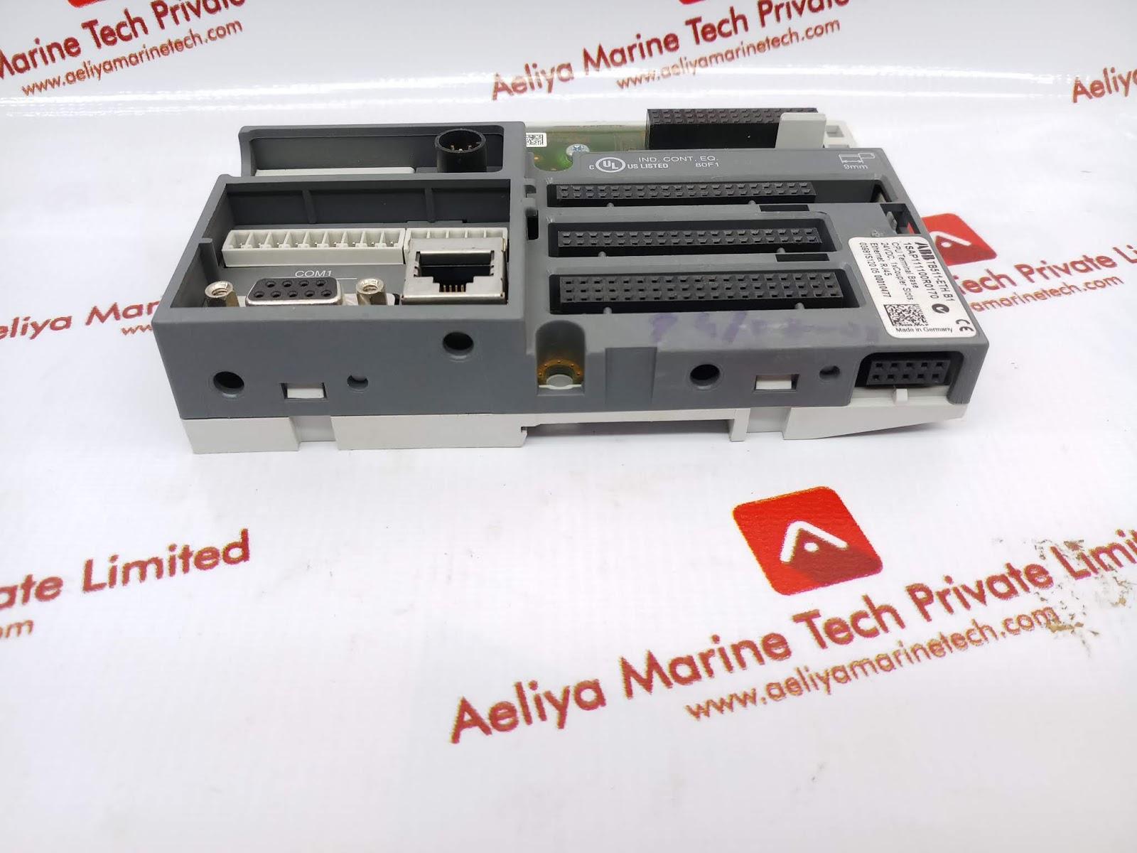 ABB TB511-ETH B1 1SAP111100R0170 CPU TERMINAL BASE | AELIYA MARINE