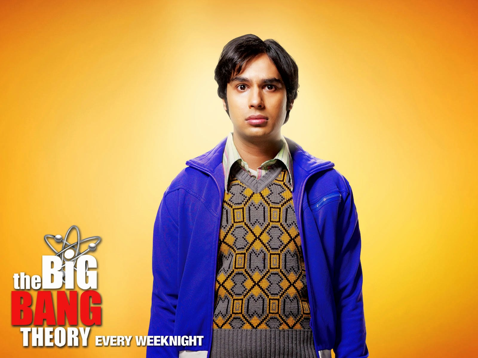 Raj - Papel de parede The Big Bang Theory