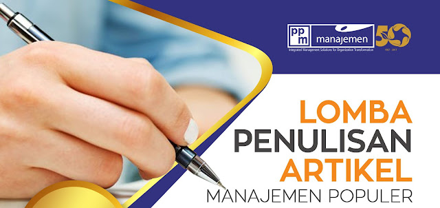 Lomba Penulisan Artikel Manajemen Populer PPM50