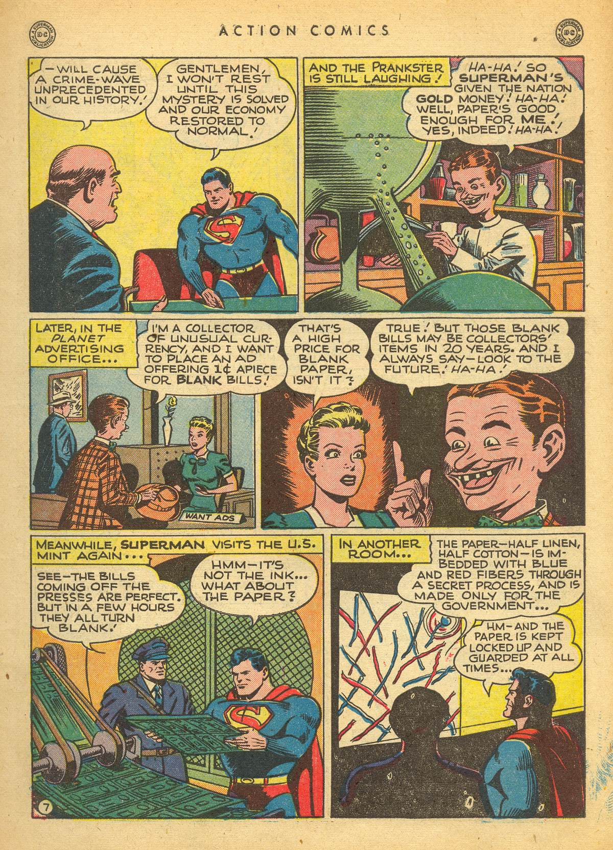 Read online Action Comics (1938) comic -  Issue #109 - 9