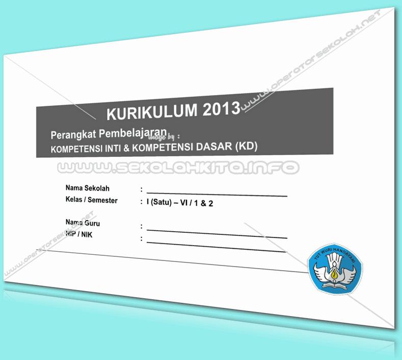 KI dan KD Kurikulum 2013 SD Kelas 5 Revisi 2016