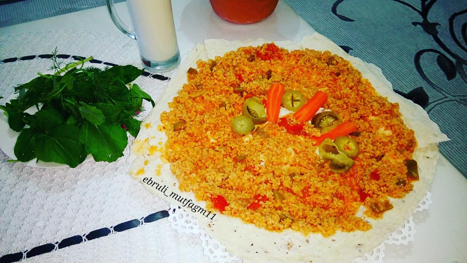Sebzeli, yufkalı Pirinç Pilavı