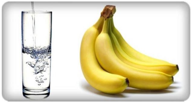Image result for pisang dan air hangat