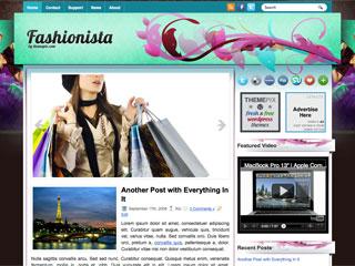 Free Fashionista WordPress Theme