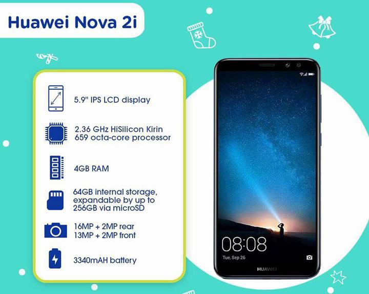 Huawei Nova 2i Percuma Menerusi PakejCelcom