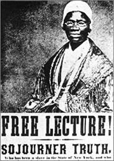 The Eloquent Woman Famous Speech Friday Sojourner Truth Aint I a Woman