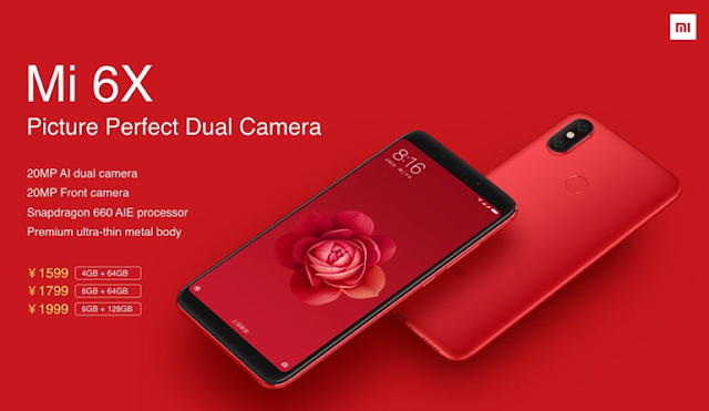 Flash Xiaomi Mi 6X atau A2