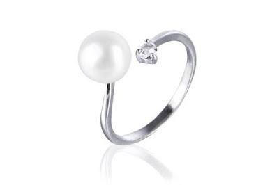 Shop for adjustable silver plated freshwater cultured pearl.