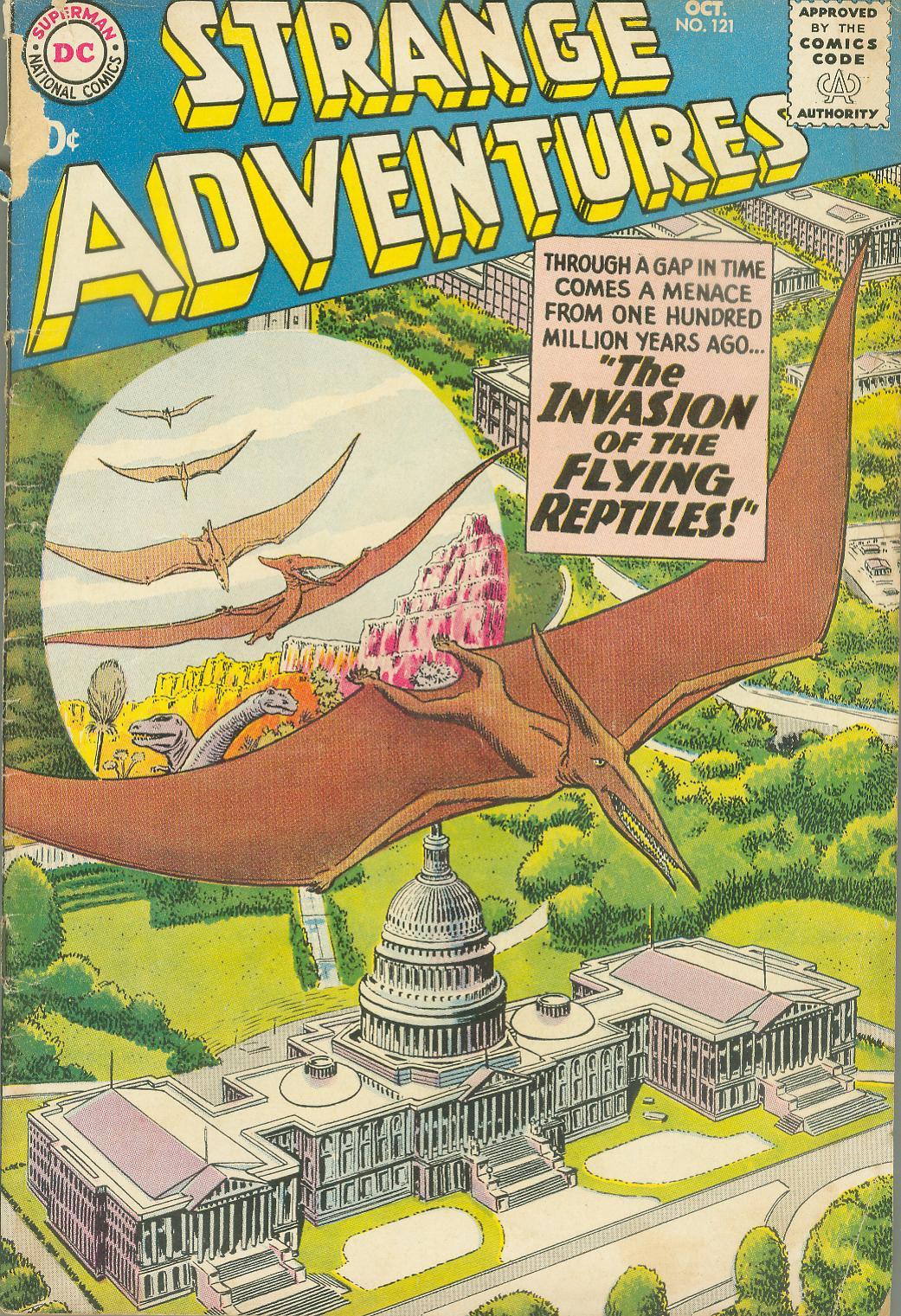 Strange Adventures (1950) issue 121 - Page 1