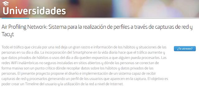Proyecto Universidades Air Profiling Network