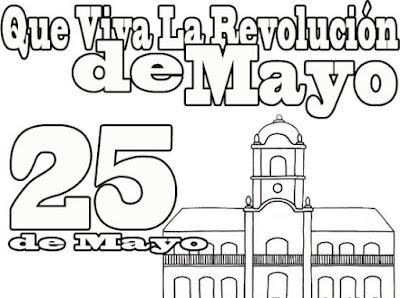 Dibujos 25 de Mayo Argentina