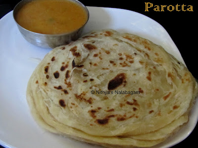 Parotta - Tamil Nadu Style