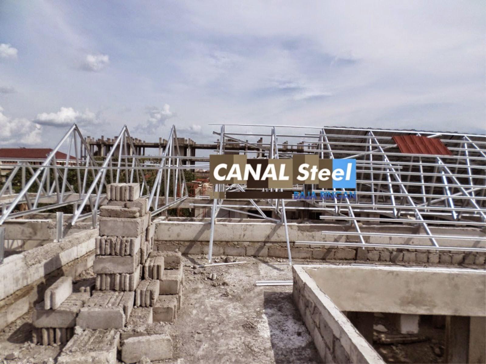 Harga Ongkos Pasang Atap Baja Ringan Jual Jogja | Magelang Purworejo Klaten ...