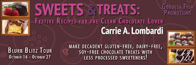 Excerpt: Sweets & Treats, Festive Recipes for the Clean Chocolate Lover by Carrie A. Lombardi