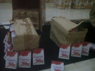 in sya allah, di 50 koto akan disebar 8000 buku pengaruh buruk valentine