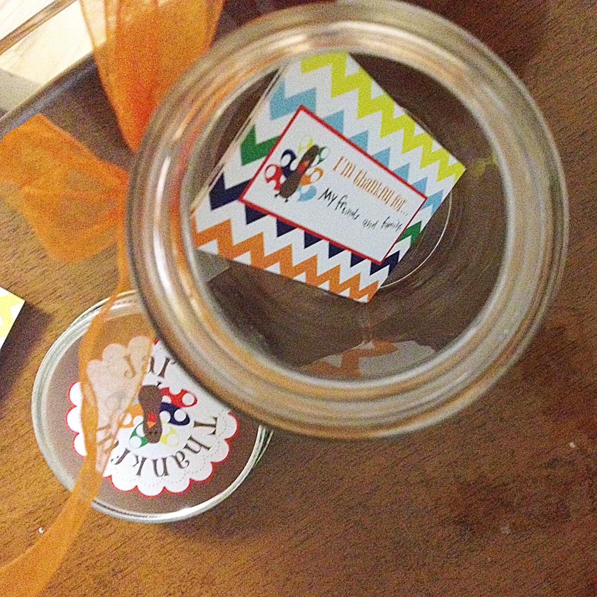 Baabaable Free Printables Diy Thankful Jars