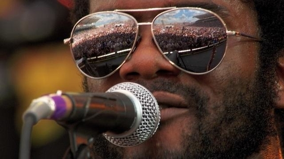 Music Television presents live films of Gary Clark Jr. at Crossroads Guitar Festival