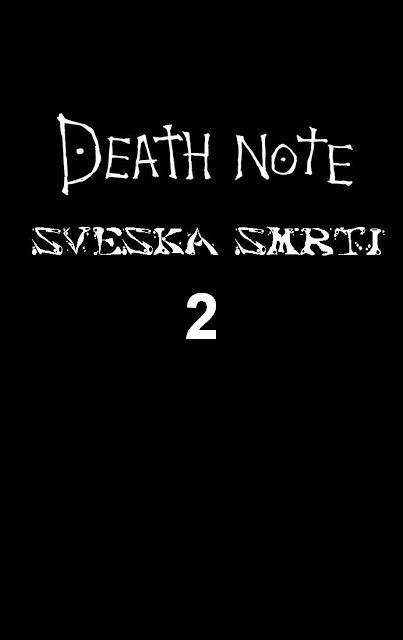 Sveska Smrti 2 - Manga
