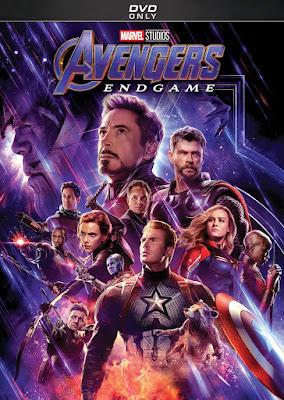 Avengers Endgame 2019 Dvd