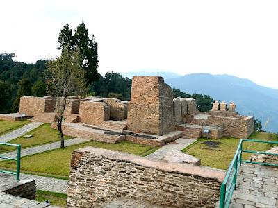 Rabdentse palace, Sikkim