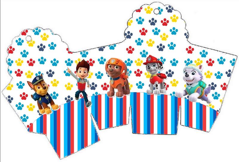 Molde Para Cupcake Patrulha Canina