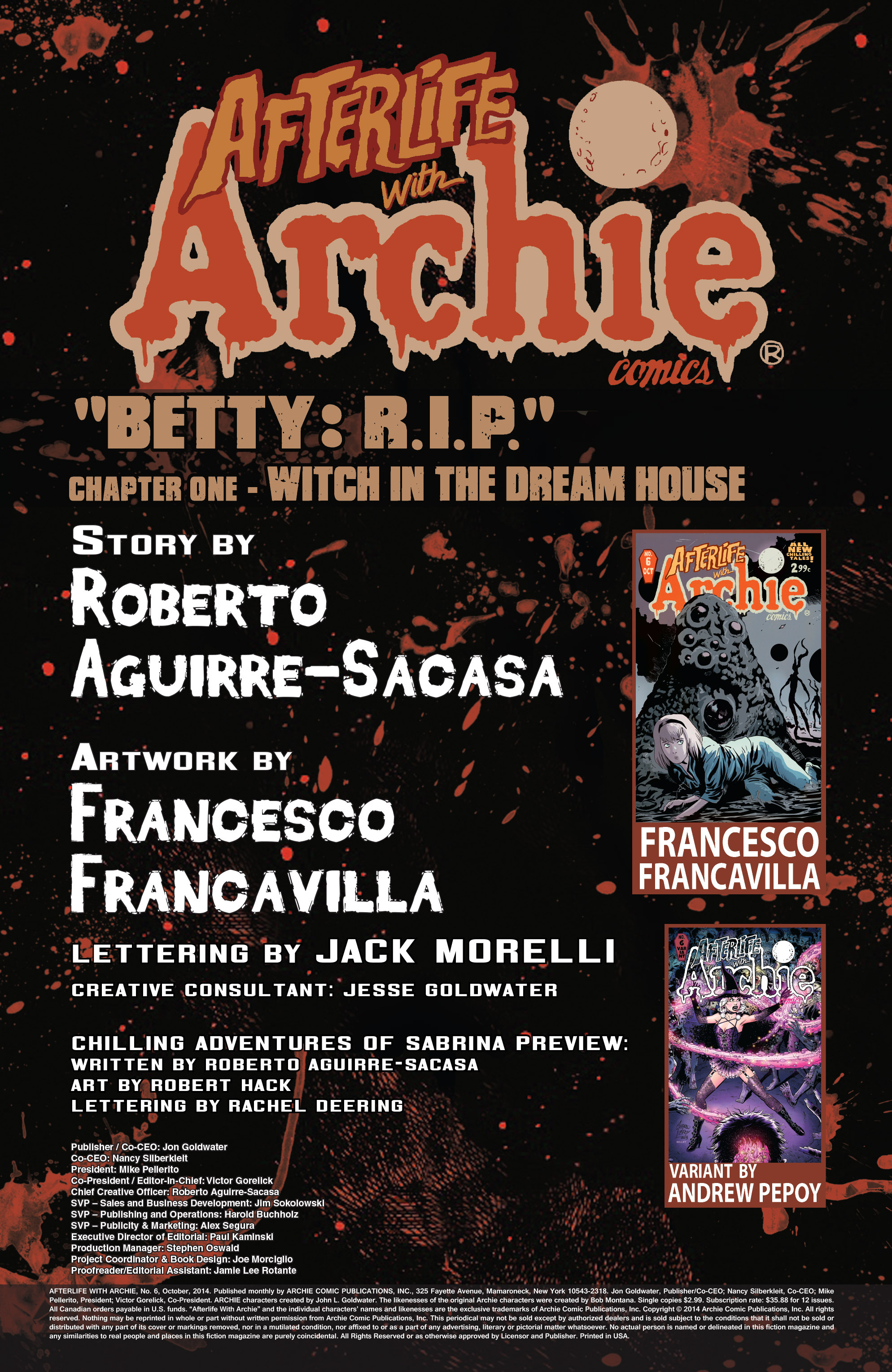 Read online Afterlife with Archie comic -  Issue #6 - 2