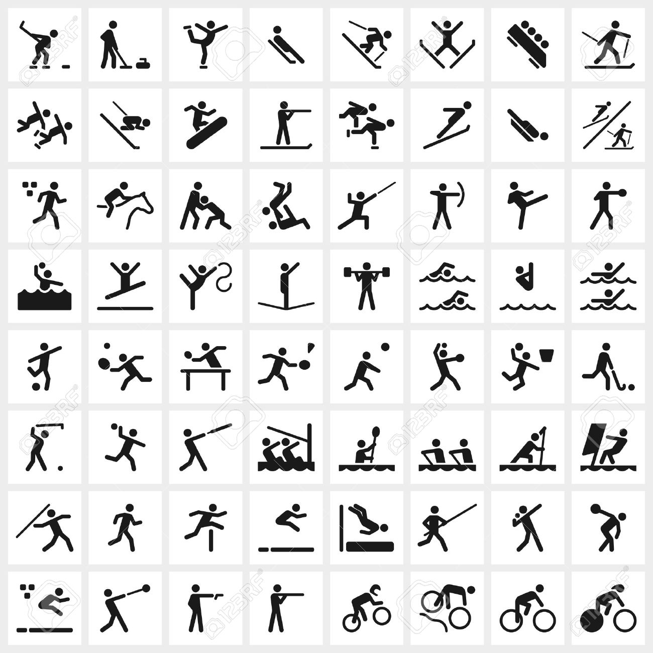 Esl And Efl Resources Olympic Sports Basic Exercise